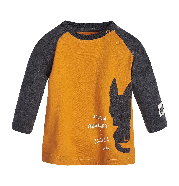 Endo - T-shirt z długim rękawem dla dziecka 0-3 lata N82G045_1