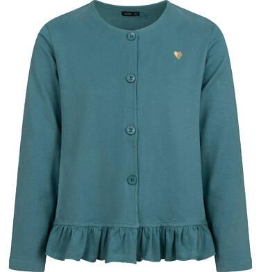 Endo - Bluza rozpinana dla dziewczynki, zielona, 9-13 lat D04C033_4 34