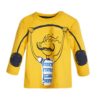 Endo - T-shirt z długim rękawem dla dziecka 0-3 lata N82G046_1