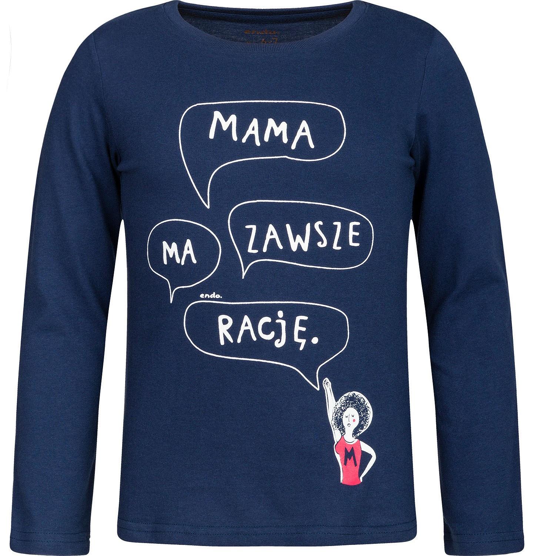 Endo - T-shirt z długim rękawem dla dziewczynki 3-8 lat D82G143_1