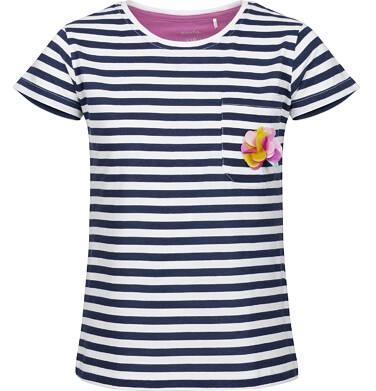 Endo - Bluzka z krótkim rękawem dla dziewczynki 9-13 lat D91G596_1