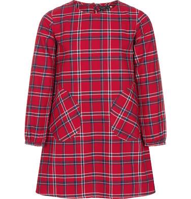 Endo - Sukienka z długim rękawem dla dziewczynki 3-8 lat D92H020_1