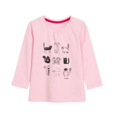 Bluzka z długim rękawem dla dziecka 0-3 lata N92G040_2