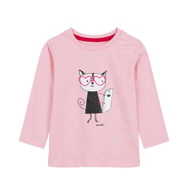 Endo - Bluzka z długim rękawem dla dziecka 0-3 lata N92G041_1