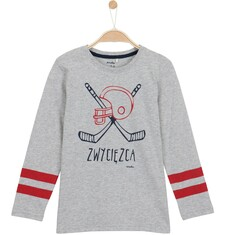 Endo - T-shirt z długim rękawem dla chłopca 3-8 lat C62G125_1