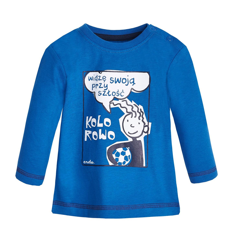 Endo - T-shirt z długim rękawem dla dziecka 0-3 lata N82G047_2