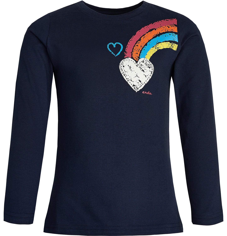 Endo - T-shirt z długim rękawem dla dziewczynki 3-8 lat D82G145_1