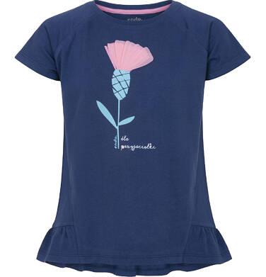 Endo - Bluzka z krótkim rękawem dla dziewczynki 9-13 lat D91G607_1