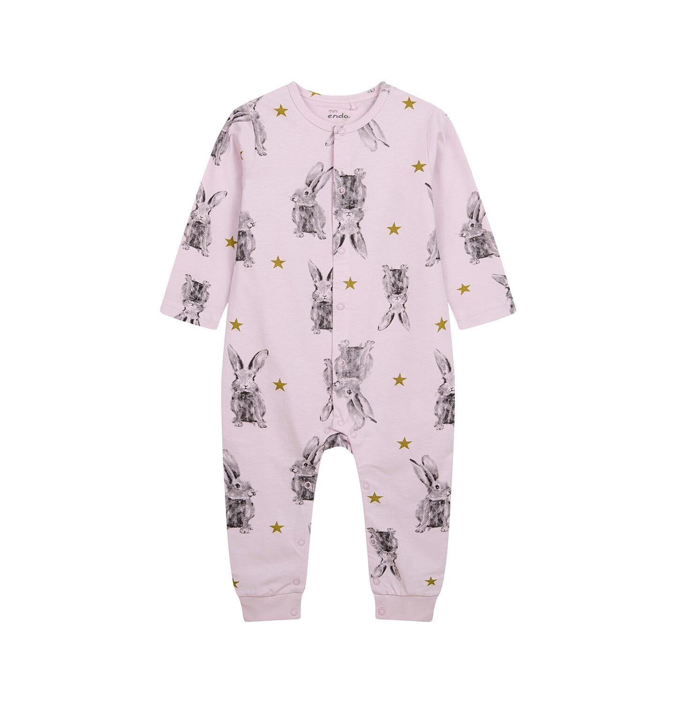 Endo - Pajac dla dziecka do 2 lat, różowy N04N026_1