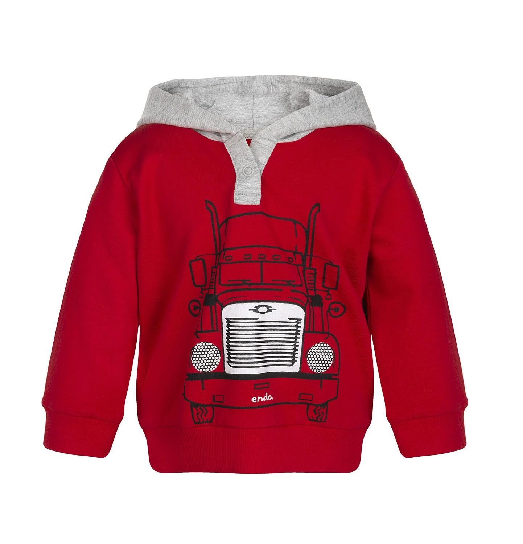 Endo - Bluza z kapturem rozpinana dla dziecka 0-3 lata N82C012_1