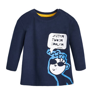 Endo - T-shirt z długim rękawem dla dziecka 0-3 lata N82G048_1