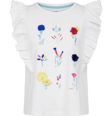 Endo - Bluzka z krótkim rękawem dla dziewczynki 3-8 lat D91G108_1
