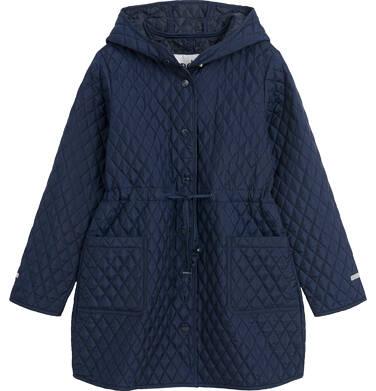 Endo - Przejściowy płaszcz dla dziewczynki, pikowany, granatowy, 9-13 lat D03A513_1 13