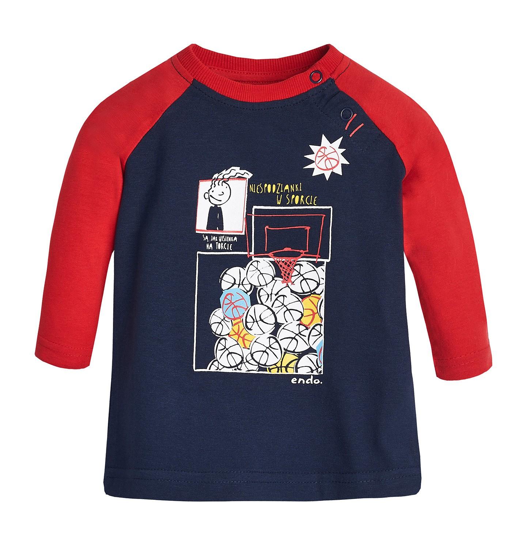 Endo - T-shirt z długim rękawem dla dziecka 0-3 lata N82G049_1