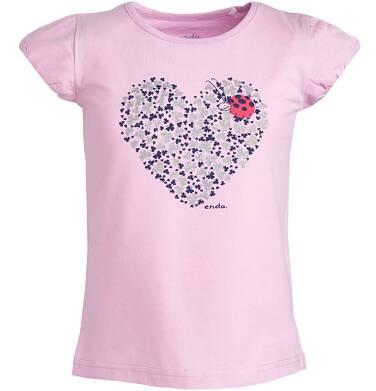 Endo - Bluzka z krótkim rękawem dla dziewczynki 9-13 lat D81G512_2