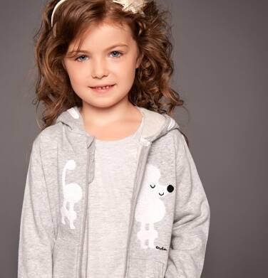 Endo - Bluza z kapturem rozpinana dla dziewczynki 3-8 lat D82C004_1
