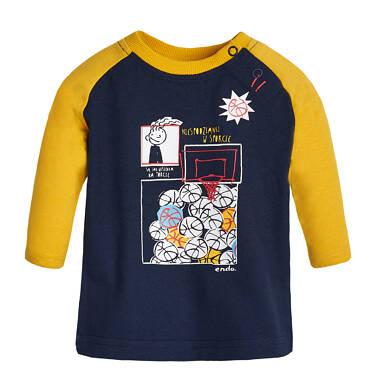 Endo - T-shirt z długim rękawem dla dziecka 0-3 lata N82G049_2