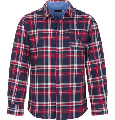 Endo - Koszula z długim rękawem dla chłopca, w kratę, 9-13 lat C92F503_3