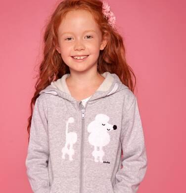 Endo - Bluza z kapturem rozpinana dla dziewczynki 9-13 lat D82C504_1