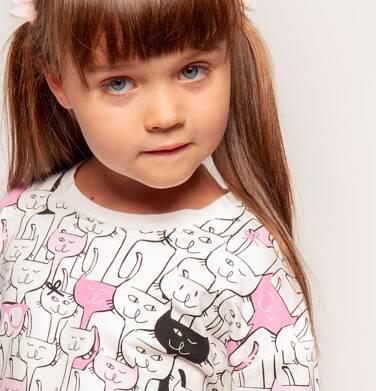 Endo - Bluza z długim rękawem dla dziewczynki 3-8 lat D82C012_1