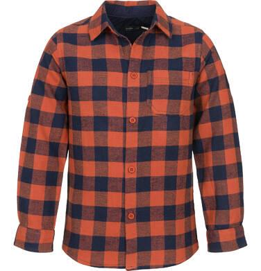 Endo - Koszula z długim rękawem dla chłopca, w kratę, 9-13 lat C92F504_2
