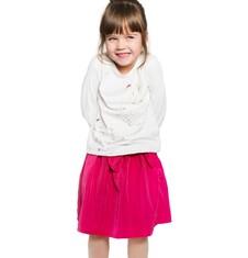 Endo - Satynowa spódnica dla dziewczynki 3-8 lat D72J013_2