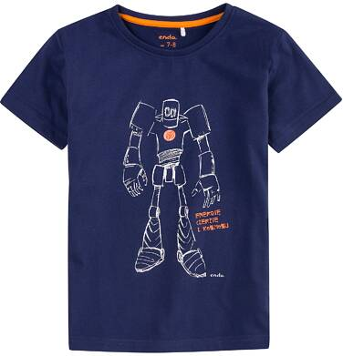 Endo - T-shirt dla chłopca 4-8 lat C71G038_1