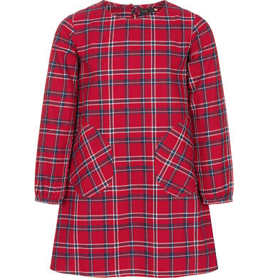 Endo - Sukienka z długim rękawem dla dziewczynki 9-13 lat D92H520_1