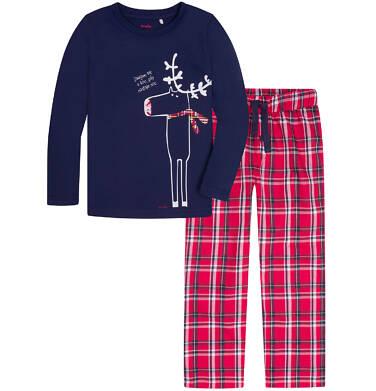 Endo - Piżama flanelowa dla chłopca 3-8 lat C72V002_1