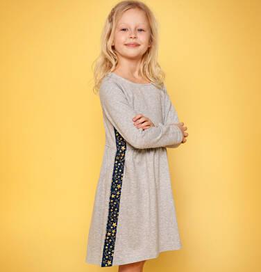Endo - Sukienka z długim rękawem dla dziewczynki 9-13 lat D82H527_1