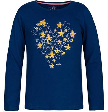 Endo - T-shirt z długim rękawem dla dziewczynki 9-13 lat D82G540_1