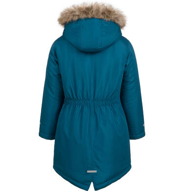 Endo - Długa kurtka parka zimowa z kapturem, 9-13 lat D04A009_1,5