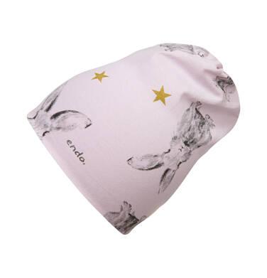 Czapka dla dziecka, różowa N04R022_1