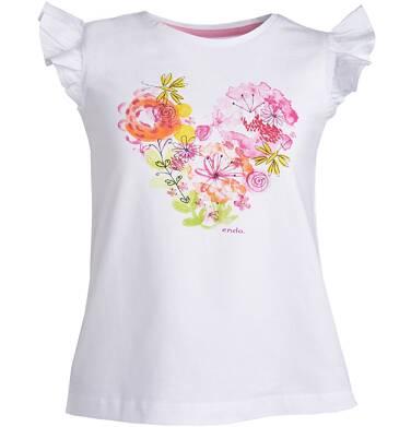 Endo - Bluzka z krótkim rękawem dla dziewczynki 9-13 lat D81G600_1