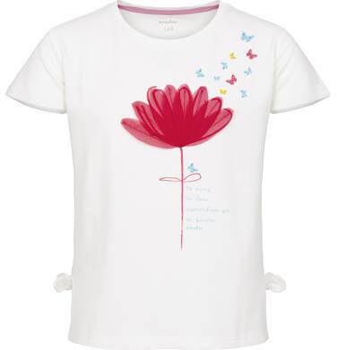 Endo - Bluzka z krótkim rękawem dla dziewczynki 3-8 lat D91G110_1