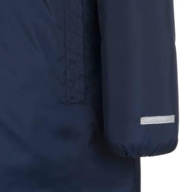Endo - Długa kurtka zimowa, płaszcz z kapturem, granatowy, 9-13 lat D04A012_1,6