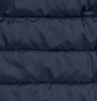Endo - Długa kurtka zimowa, płaszcz z kapturem, granatowy, 9-13 lat D04A012_1,7