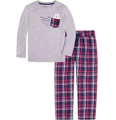 Endo - Piżama flanelowa dla chłopca 3-8 lat C72V003_1