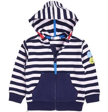 Endo - Bluza rozpinana z kapturem dla chłopca 6-36 m-cy N81C013_1