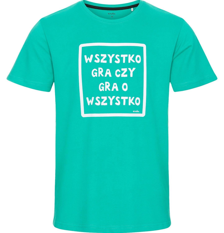 Endo - T-shirt męski z krótkim rękawem Q92G001_1