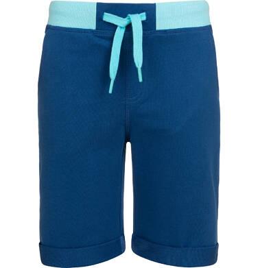Endo - Krótkie spodenki dresowe dla chłopca, ciemnoniebieskie, 9-13 lat C05K027_2,2