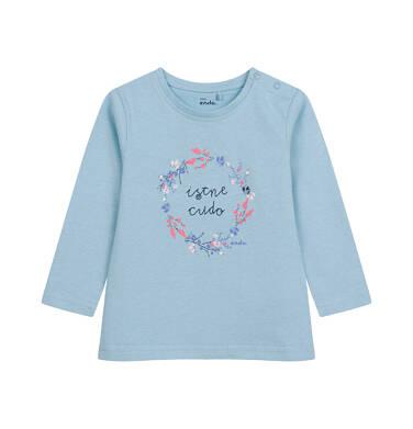 Endo - Bluzka z długim rękawem dla dziecka do 2 lat, niebieska N04G059_1 28
