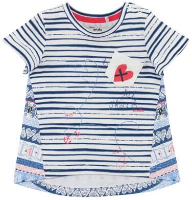 Endo - Bluzka w deseń dla niemowlaka N61G011_1