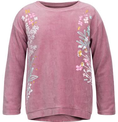 Endo - Bluza welurowa dla dziewczynki 3-8 lat D82C010_1