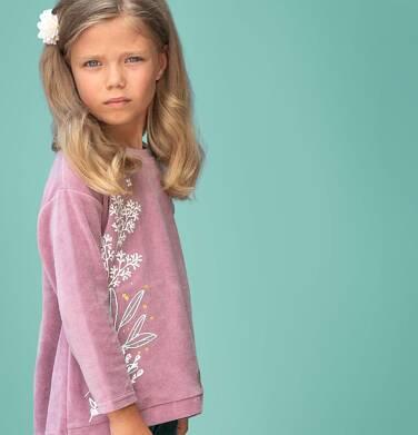 Bluza welurowa dla dziewczynki 3-8 lat D82C010_1
