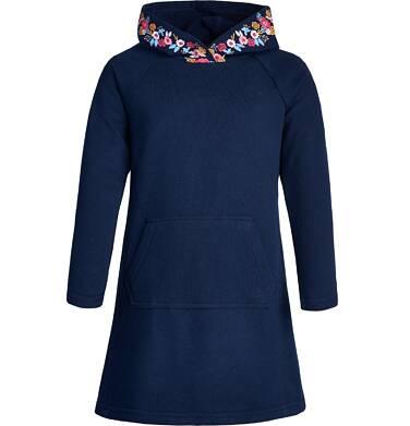 Endo - Sukienka z długim rękawem dla dziewczynki 3-8 lat D82H033_1