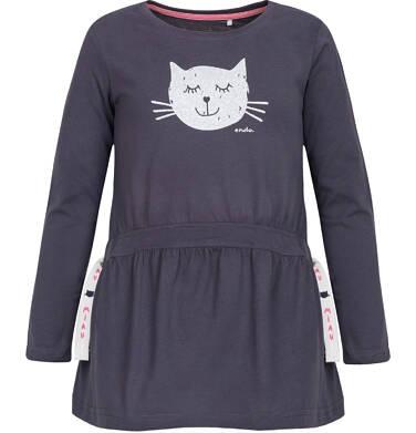 Endo - T-shirt z długim rękawem dla dziewczynki 9-13 lat D82G550_2