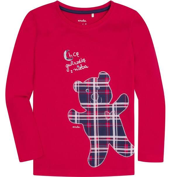 Rewelacyjny Piżama flanelowa dla dziewczynki 3-8 lat   Piżamy i koszule n   Endo FG52