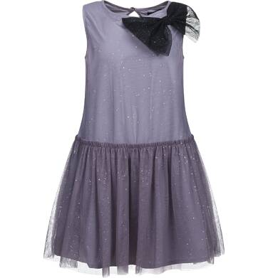 Endo - Sukienka z tiulu bez rękawów dla dziewczynki 3-8 lat D82H038_1