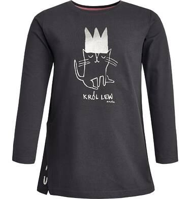 Endo - T-shirt z długim rękawem dla dziewczynki 9-13 lat D82G552_1